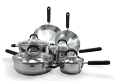 Prime 10pc. Stainless Steel Cookware Set
