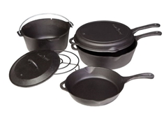 6 Piece Cast Iron Set