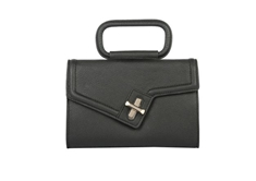 Milck Clutch - Top Handle - Black