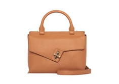 Mini Lady Bag Tan