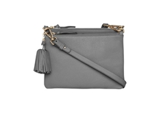 Double Take Crossbody Bag Grey