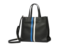 Small Tote Stripe - Black