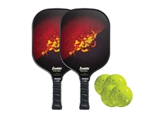 Outdoor Pickleball Paddle and Ball Set