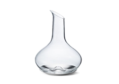 Sky Glass Wine Carafe & Stainless Coaster