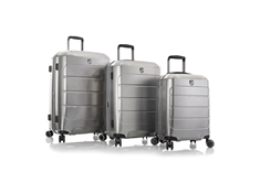 EcoCase Spinner Luggage 3pc Set-Grey