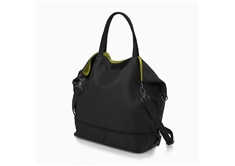 HiLite Zip Packaway Tote Black/Lime