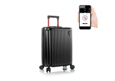 "Smart Luggage 21"" Carry-on Black"