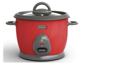 16 Cup Rice Cooker, Red