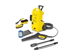 K 2 Telescopic Car Electric Power Washer 1600 PSI