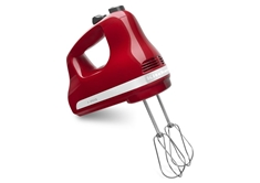 5 Speed Hand Mixer - Empire Red