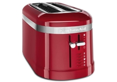 4 Slice Long Slot Toaster-Empire Red