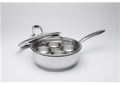 Egg Poaching Pan With Cover - 20 cm (2 L)