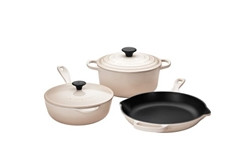 5 Piece Cookware Set, Meringue