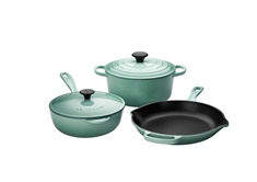 5 Piece Cookware Set, Sage