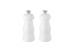 Small Salt and Pepper Mill Set - White