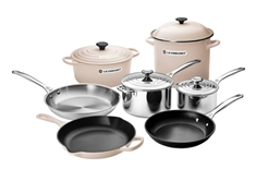 11pc. Ultimate Cookware Set - Meringue
