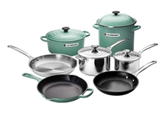 11pc. Ultimate Cookware Set - Sage