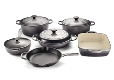 10 Piece Cast Iron Set - Oyster