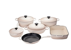 10pc. Cast Iron Set - Meringue