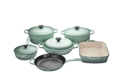 10pc. Cast Iron Set - Sage