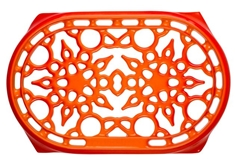 Deluxe Oval Trivet - Flame