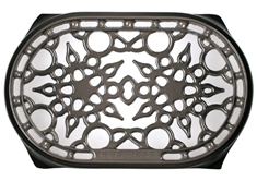 Deluxe Oval Trivet - Oyster
