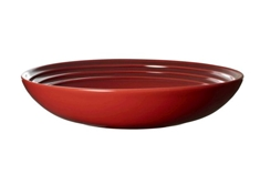 22 cm Coupe Pasta Bowls (Set of 4) - Cerise