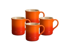 0.35 L Mugs (Set of 4) - Flame
