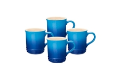0.35 L Mugs (Set of 4) - Blueberry