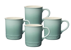 0.35 L Mugs (Set of 4)- Sage