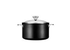 Toughened Nonstick 6.0 L Stockpot with Lid