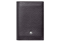 Meisterstück Soft Grain Business Card Holder Black