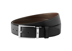 Black or Dark brown reversible cut-to-size Business Belt