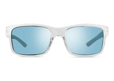 Crawler Men's Sunglasses - Clear Crystal