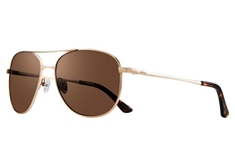 Maxie Women's Sunglasses - Gold w/ Terra