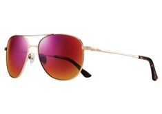 Maxie Women's Sunglasses - Gold w/ Spectra