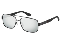 1521/S Men's Sunglasses - Black Silver