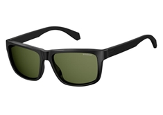 PLD 2058/S Men's Sunglasses - Matte Black