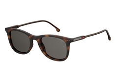 197/S Unisex Sunglasses - Brown Havana
