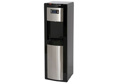 Bottom Load Water Dispenser,Black & Stainless Steel
