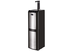 Bottom Load Water Dispenser, Black & Stainless Steel