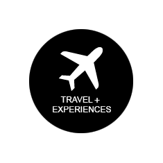 TRAVEL + EXPERIENCES