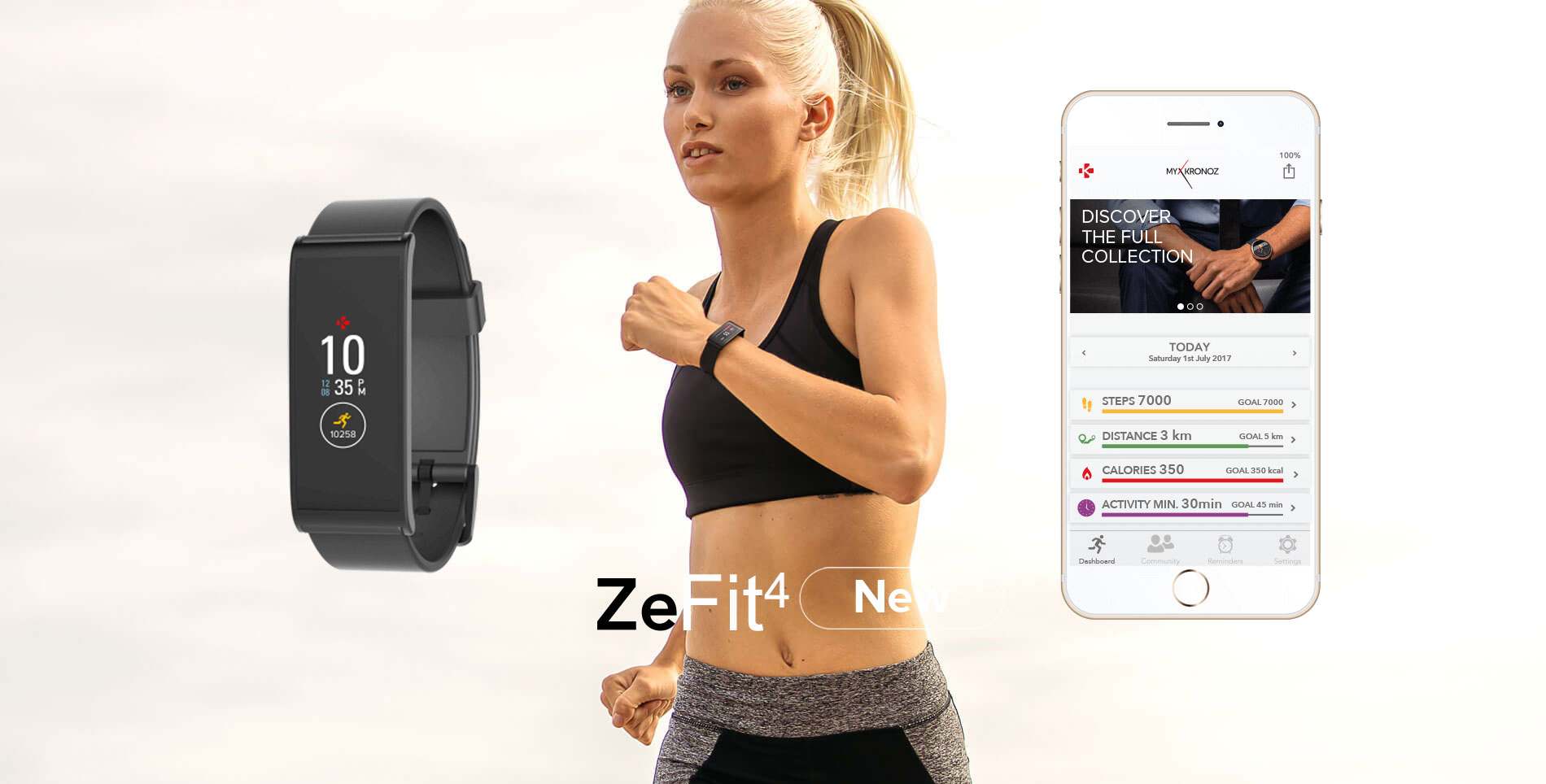 Zefit4 Activity Tracker